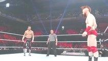 WWE RAW 23rd May 2016 Part 2 - WWE RAW 23/5/2016 Part 2[Sami Zayn Vs Sheamus For MITB Qualifying Match]