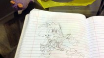 Sonic and the dark Knight drawing| SONIC THE GOLDEN KNIGHT IS HERE