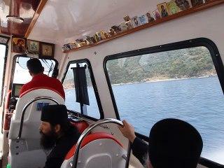 Plecarea de la Sf. Munte Athos