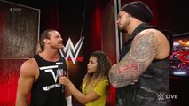 Dolph Ziggler challenges Baron Corbin to a technical wrestling match- Raw, May 2