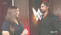 WWE RAW 23 May 2016 Part 5 - WWE RAW 23/5/2016 Part 5[Seth Rollins With Stephanie,Jericho vs Crews For MITB Chance]