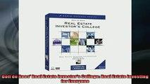 Free PDF Downlaod  Dolf de Roos Real Estate Investors College Real Estate Investing for Everyone READ ONLINE