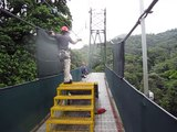Jian Guo 2010 - Number 22 Tu-Ting Tsan -  Zip Line Sky Trek Costa Rica MVI 2623