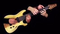 """""""One"""" de Metallica jouée par 6 mains sur 1 guitare en même temps !"""