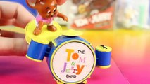 Tom And Jerry Rock N Roll Hanna-Barbera Series 1 McDonald's Toy Tom And Jerry Play Guitar In A Band