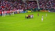 David Beckham Freekick 2010-10-03, LA Galaxy vs Chivas USA