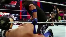 AJ Styles and The Club Brawl with The Usos and Roman Reigns  WWE Raw 17th May 2016