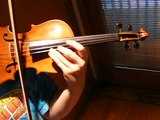 Fine 19th C. French 1/2 Size VIOLIN, DeBeriot Violin Concerto No. 9, Solo Sound Sample
