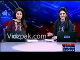 Chal Drame baaz kahin ke :- SAMAA News Female anchor on Karachi Police commmandos drama in protest
