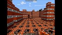 Minecraft miasto z TNT