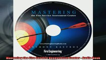 FREE DOWNLOAD  Mastering the Fire Service Assessment Center  Audio Book READ ONLINE