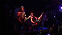"""AMORAL perform """"Wrapped in Barbwire"""" at SXSW 3/15/2012 Austin, Texas"""