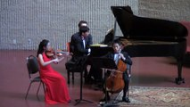 Haydn Piano Trio in C major at International Chamber Music Ensemble Winner's Concert on 10/25/15
