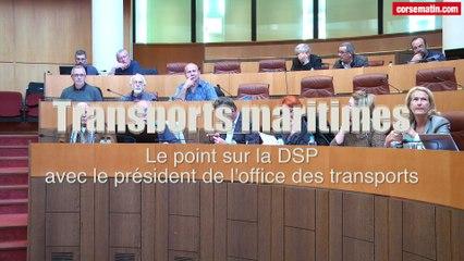 VIDEO. Maritime : le président de l'office des transports fait le point sur la DSP