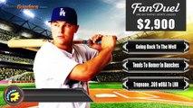 FanDuel Picks - MLB Daily Fantasy Baseball Picks 5-18-16
