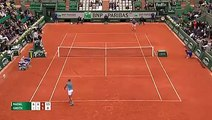 Rafael Nadal Tweener Roland Garros 2016 - tennis