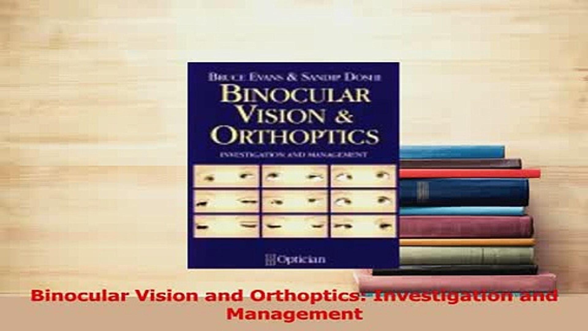 Binocular Vision & Orthoptics
