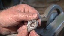 Un minéral formé grâce aux dépôts de peintures automobiles