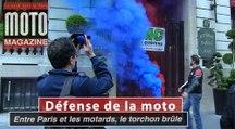 Interdictions de circulation : les FFMC d'Ile de France frappent fort contre l'adjoint au maire de Paris