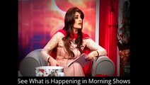 spy camera See What is Happening in Morning Shows Behind the Camera pakistani morning show