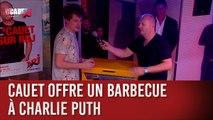 Cauet offre un barbecue à Charlie Puth - C'Cauet sur NRJ