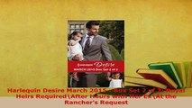 PDF  Harlequin Desire March 2015  Box Set 2 of 2 Royal Heirs RequiredAfter Hours with Her  EBook