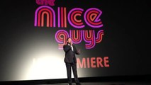Russell Crowe and Ryan Gosling reveal their nicknames at The Nice Guys Premiere London