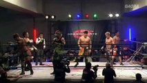 Akira Tozawa, Masato Yoshino & T-Hawk (c) vs. Genki Horiguchi HAGeeMee, Jimmy Susumu & Ryo Jimmy Saito (4/24/16)
