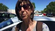 Claudine (Syndicat Interco) - Caravane orange Cfdt du Var - Draguignan le 24 mai 2016