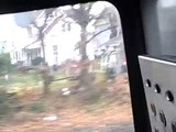 11/25/10 NJT NJCL 7237 Flying thru Long Branch, NJ
