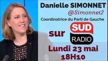 """Danielle Simonnet """"Comme beaucoup de Français, je remercie et félicite les grévistes ! Leur grève est d'intérêt général"""""""