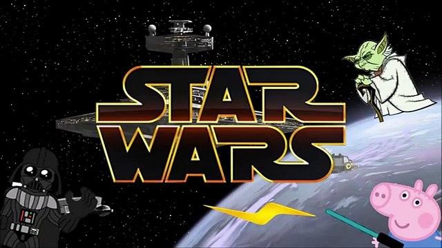 Jogos da Peppa Pig George Pig é Luke Skywalker em Historinha Infantil Darth Vader Desenho Star Wars1