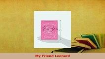 Read  My Friend Leonard PDF Free