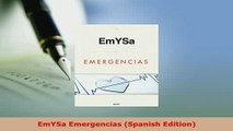 Read  EmYSa Emergencias Spanish Edition Ebook Free