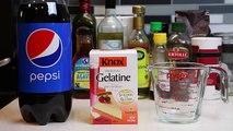 How to Make HUGE TWO LITER Gummy Pepsi Cola Bottle Fun & Easy Make Your Own Jello Dessert! - YouTube