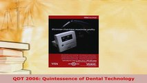 Download  QDT 2006 Quintessence of Dental Technology Free Books