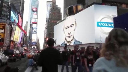 Putin have fun in New-York