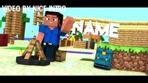 AWESOME TOP 10 Minecraft Animation Intro Templates!!!
