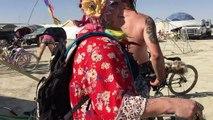 """28/88 Jaime, Ashley, and Lindsay """"make adjustments"""" @ The Petting Zoo @ Burning Man 2015"""