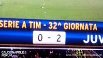 Compagnoni esultanza in Lazio-Juventus 0-2 [15/04/2013]