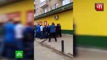 Une famille saute par la fenêtre pour échapper à un incendie (Russie)