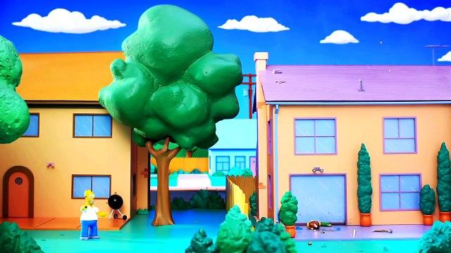 Los Simpsons - Gag del sofá de Robot Chicken