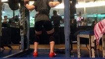 Squat 100kg * 25 reps (or 26)