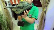 RC TANK   RC Tank Battle, RC Adventures, RC Car Crash Bike Crash Truck Crash by JeannetChannel