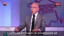 Éric Ciotti demande la dissolution puis la démission de François Hollande