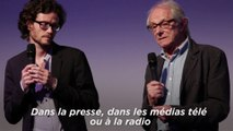 Ken Loach, palme d'or à Cannes, appelle au boycott d'Israël