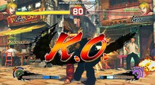 ULTRA STREET FIGHTER 4 MODE - JIN KAZAMA (KEN)