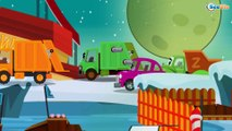 Cars Cartoons for children. Garbage Truck Cleanery. Planet of Monster Truck. Epi