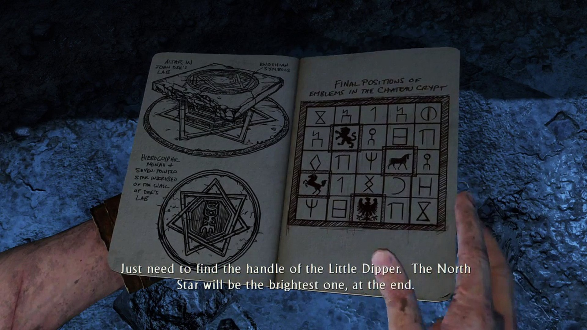 Uncharted 3 Drakes Deception Constellation Puzzle Video