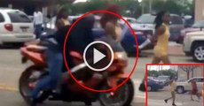 Oh My Gos: Motorcyclist at High Speed hits Parade Street Dancer
